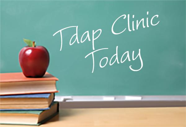 TDAP school clinics