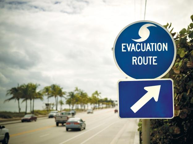 evac-sign