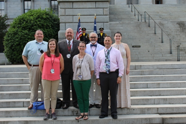 Members of our EMS and Trauma team joined officials at the state capitol on May 19, 2015 in recognition of National EMS Week.