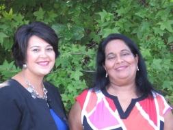 WIC Program Manager Sadhana Tolani and Breastfeeding Coordinator Jenna Deaver