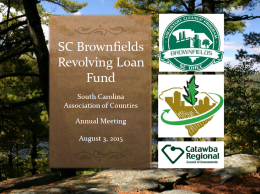Brownfields presentation cover