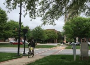 Bikeway in greenwood