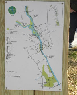 The Riverwalk in Cayce improves access to walkable parks and paths,