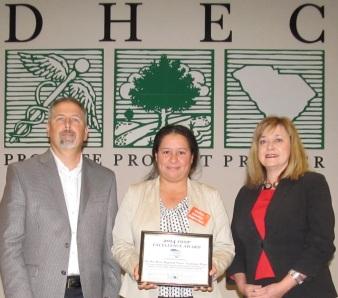 Pee Dee Regional AWOP award 2014
