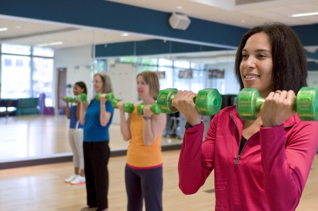 CDC Women Exercise Class Photo