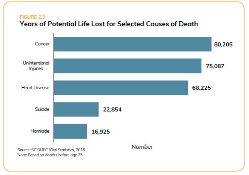 Potential Life Lost_SC Health Assessment